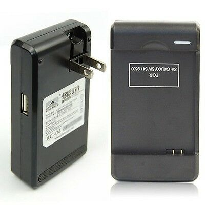 Dual USB Battery Charger Dock US Wall Charger For Samsung Galaxy S4 S IV i9500