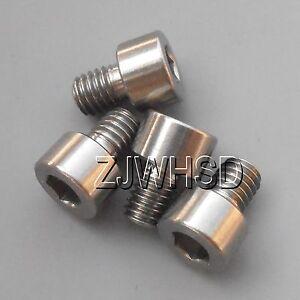 4pcs-10-32-x-1-4-034-long-Titanium-Ti-Screw-Bolt-Allen-Hex-Socket-Cap-Head-USA