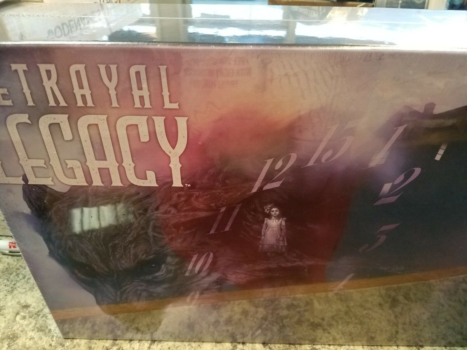 Betrayal at the House on the Hill Legacy Version Awesome Games Board Game Nuovo