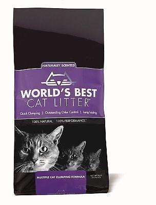 Worlds Best Cat Litter Extra Strength Original Levander Natural Various Sizes
