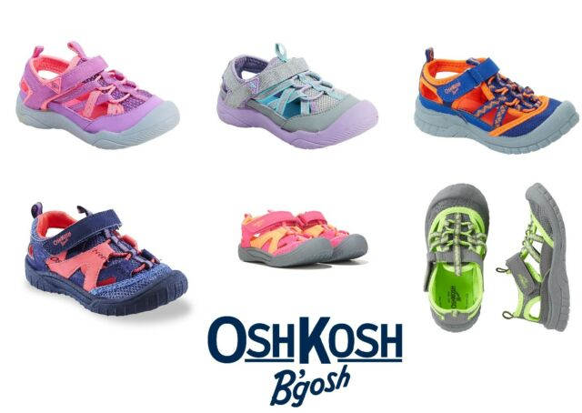 water baby shoes 2,3,4,5 Toddler size New Sandals Osh Kosh closed toe summer