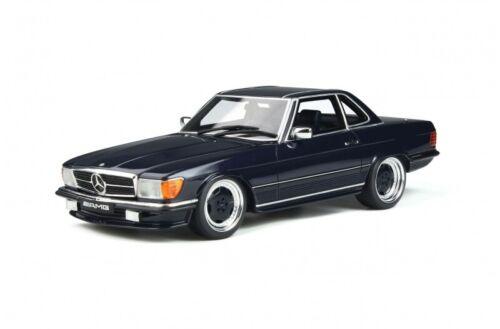 Mercedes 560 AMG R107 1979 dunkel blau 1:18 Resin Ottomobile  OT342 neu /& OVP