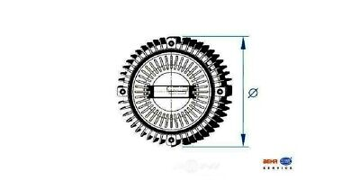 BMW Engine Cooling Fan Clutch Behr 100/% Made in Germany 8MV376732231