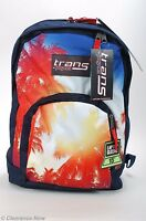 Jansport Backpack Multi Palm Sun 15 Laptop Sleeve 19 Tall Padded Tags 4936