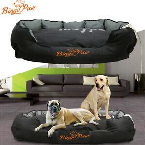 Xxl Extra Large Jumbo Orthopedic Pet Dog Bed Dog Kennel Basket Pillow Waterproof Ebay