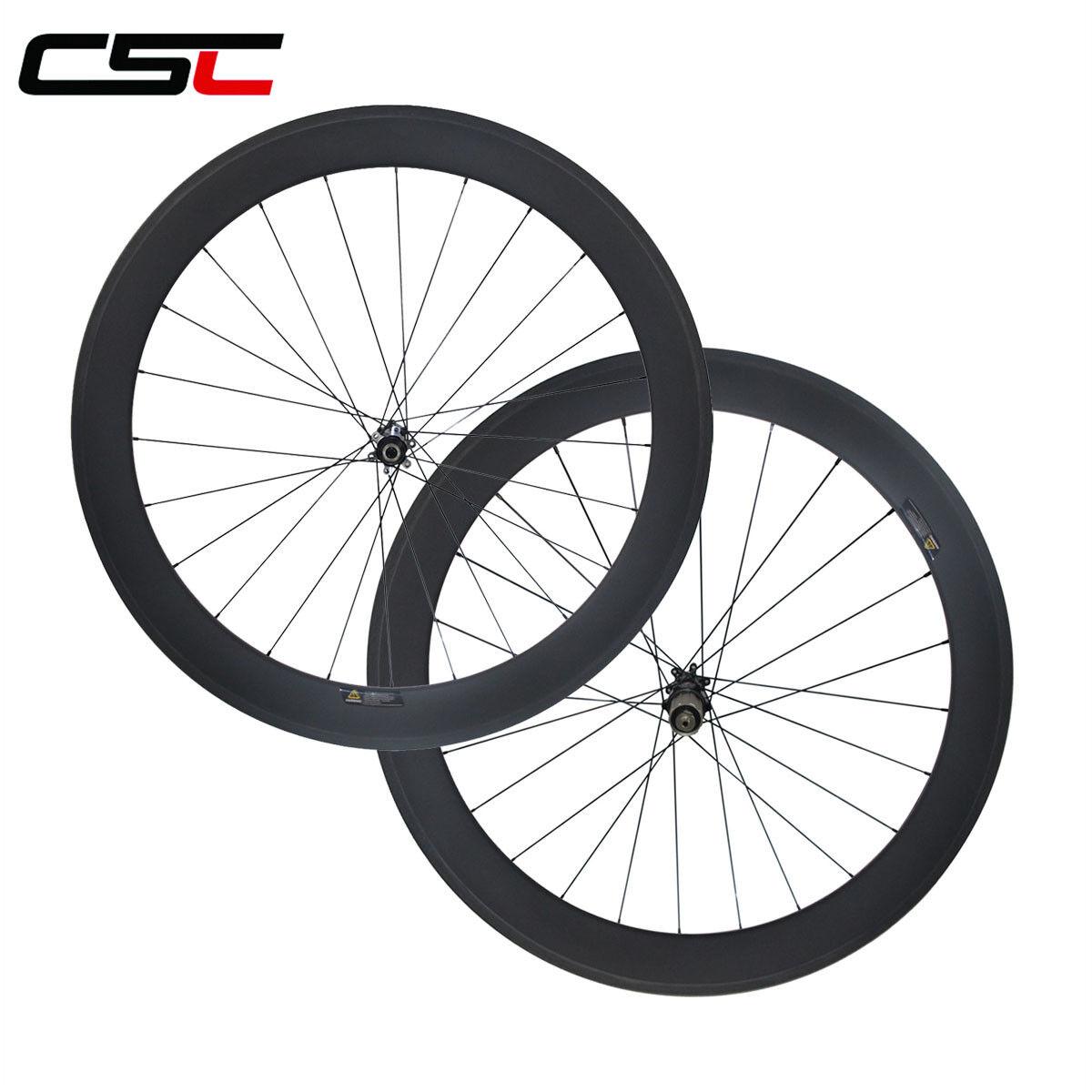 Straight pull carbon 60mm clincher cyclocross wheels Novatec disc  thru axle hub  online cheap