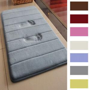 MEMORY-FOAM-Bath-Mat-Doormat-Entrance-Rug-Anti-Slip-Indoor-Outdoor-Floor-Carpet