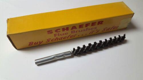 "New Schaefer Flue and Condenser Brush 43710 1//2/"" DIA NYLON     NIB"