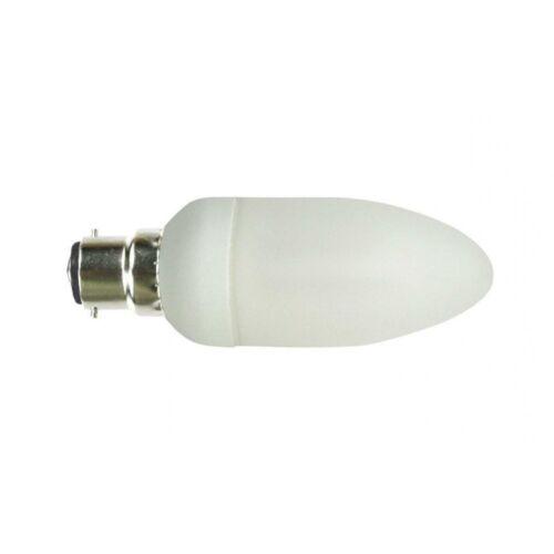 12 Bougie Ampoule faible économie d/'énergie 11 W bc b22 baïonnette cap soft blanc chaud