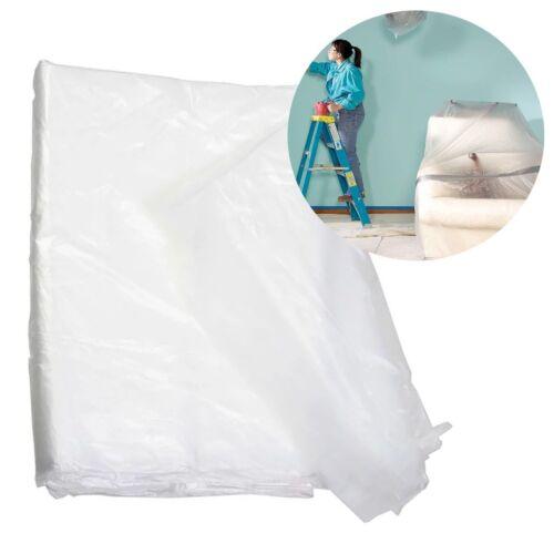 Large Mildew//Waterproof DECORATING DUST SHEET Paint//Dirt//Rain//DIY//Storage Cover