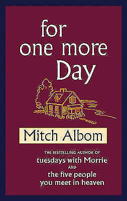1 of 1 - For One More Day by Mitch Albom (Hardback) New Book