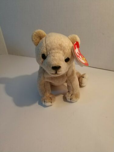 1999 Ty Original Beanie Babies ALMOND the Bear NWT Retired 12//99