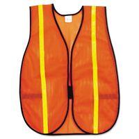 River City Polyester Mesh Safety Vest, 3/4in Lime Green Stripe - Rvrv211r on sale