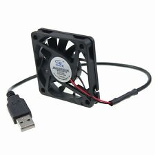 60mm DC 5V USB Lüfter 60x60x10mm PC Computer Cooler Cooling Fan Sleeve Bearing