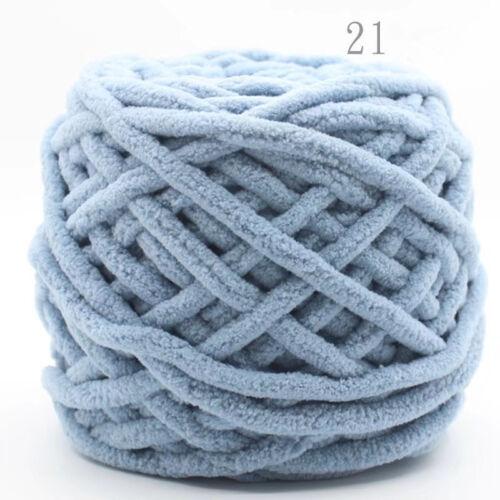 100g Balls Soft Bambus Baumwolle Knitting Stricken Wolle Chunky Garne Häkeln