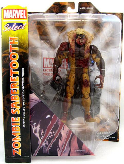 X-MEN Sabretooth Zombie Marvel Select Action Figure Diamond Select