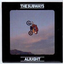 (FA603) The Subways, Alright - 2008 DJ CD