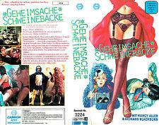 (VHS) Geheimsache Schweinebacke - Nancy Allen, David Naughton (1984)