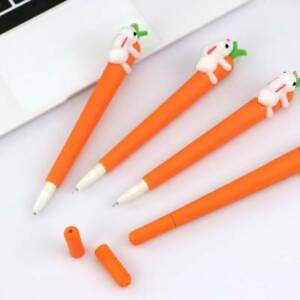 4Pcs-Set-Rabbit-Carrot-Gel-Pens-Set-School-Supplies-Office-Stationary-Photo