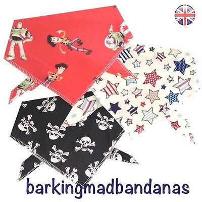 Neck Scarf Pink Handmade Dog Bandana Dog Bandanas Dog Neckerchief UK
