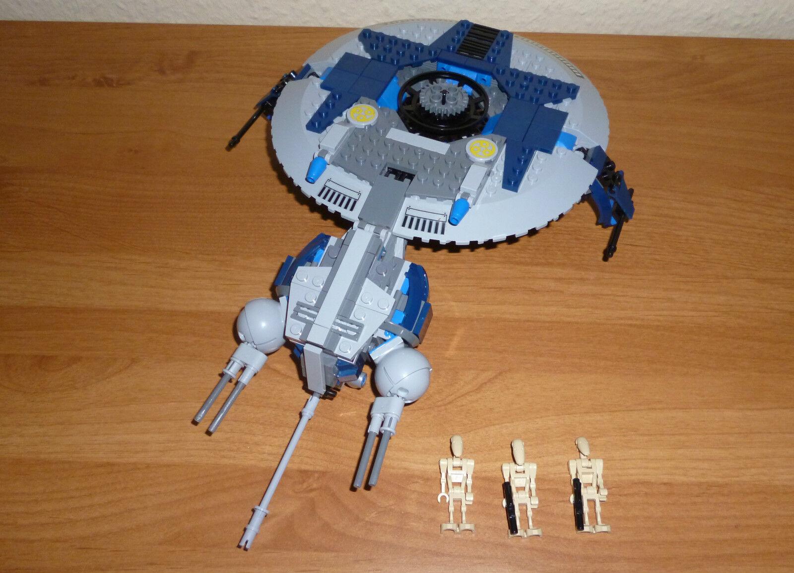 LEGO Star Wars Droid Gunship , komplett  mit Figuren