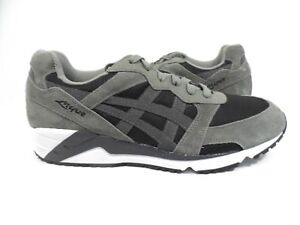 nouveau produit b6c55 c13e7 Détails sur Homme Asics Gel-lique Sneaker Noir/Gris foncé Taille 9-  afficher le titre d'origine