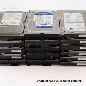 250GB-SATA-HARD-DRIVE-7200RPM-3-5-034-for-Desktop-Western-HITACHI-Seagate