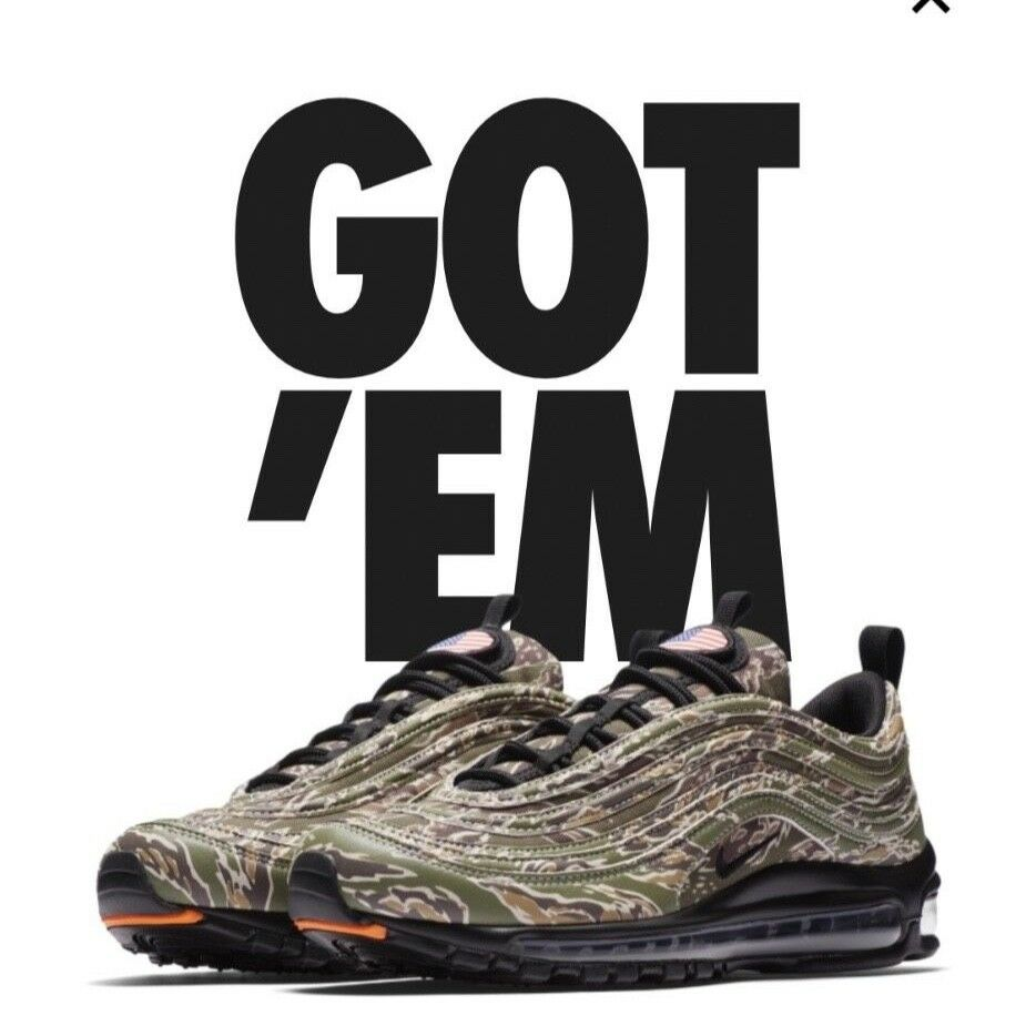 Nike Air Max premium Country Camo USA Comfortable Brand discount