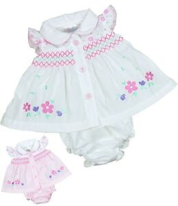 38088f56456d BabyPrem Micro PREEMIE Tiny Baby Clothes Pink   White Dresses 3-5 5 ...