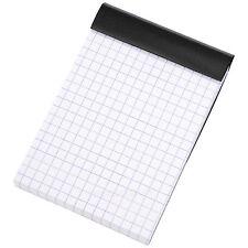 Set of 3 Rhodia Black A7 5/5 Square Grid Pocket Paper Notepads Maths Book Pads
