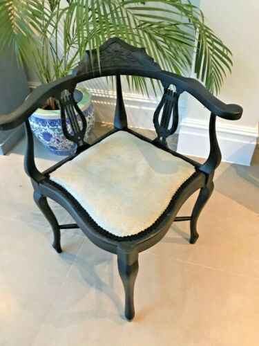 Corner Chair - with Osborne &Little material: living room or bedroom chair