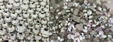 Swarovski crystals flat back CRYSTAL AB or CLEAR for nails shoes clothes* 30pcs