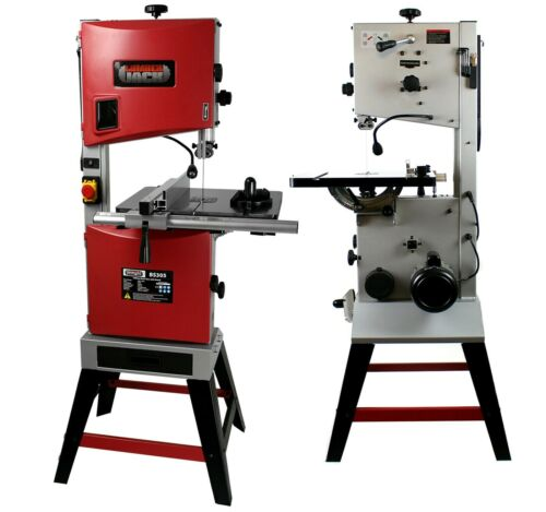 """12"""" Professional Woodworking Bandsaw Cast Table Solid Fence /& Cutting Blade 240v"""