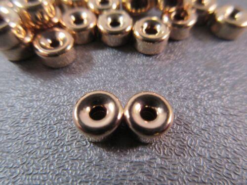 14K Gold Filled 2 Strand Donut Divider Spacer 6mm 1pc