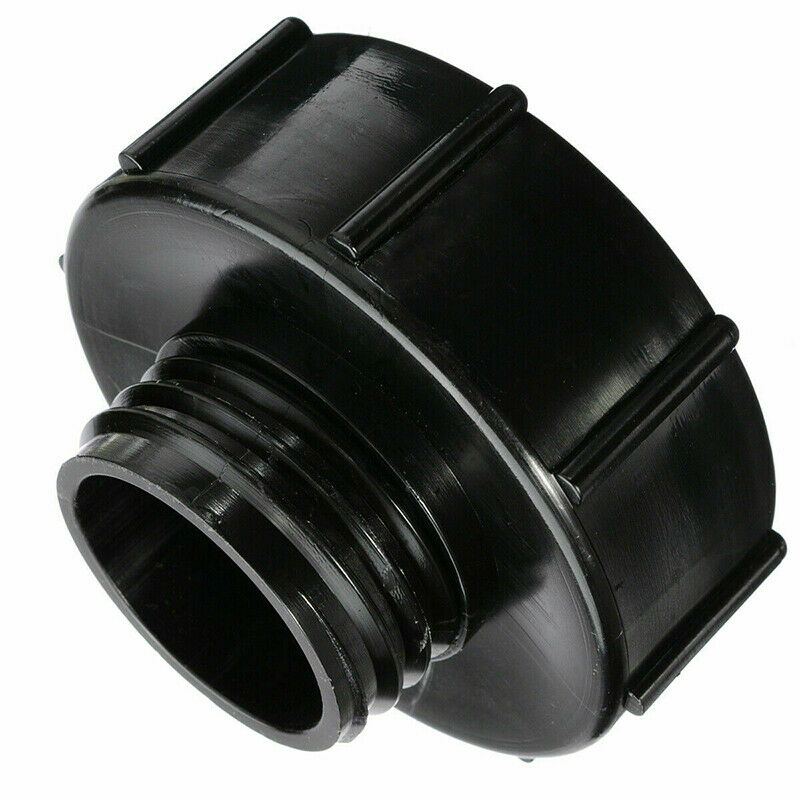 IBC Adapter S100x8 (100mm) to Reduce S60x6 (60mm) IBC Tank Connector Black New