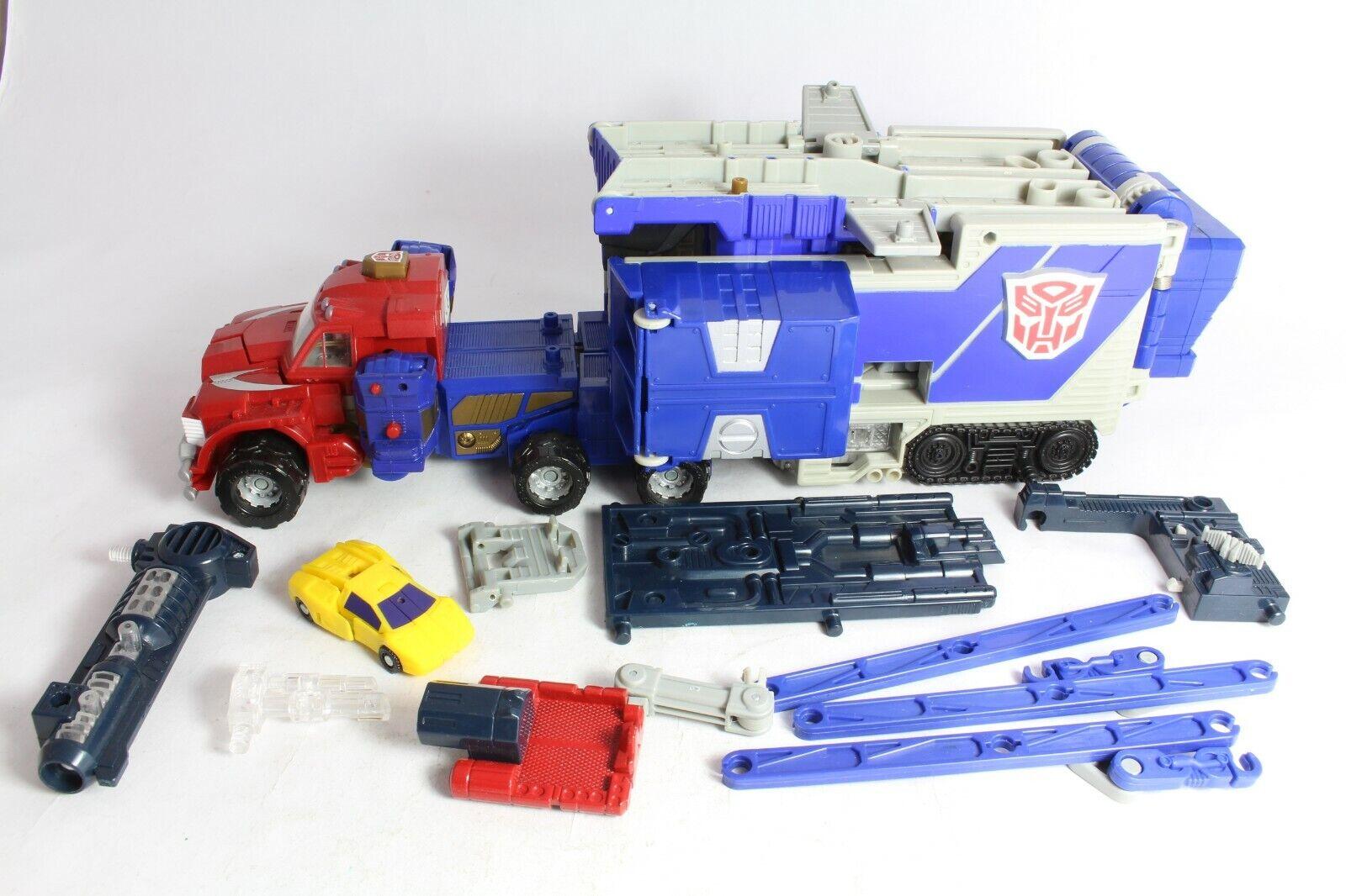 Transformers Armada Optimus Prime No Missile & Broken Gun