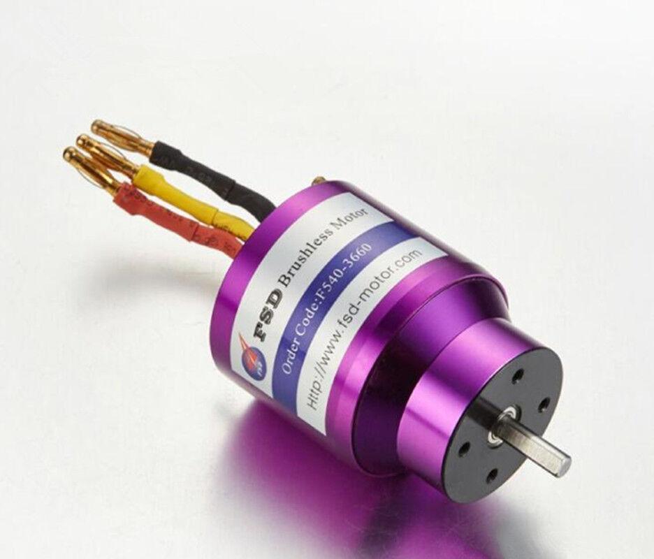 FSD 3660/1620KV Inner Rotor Brushless Motor For RC Boats