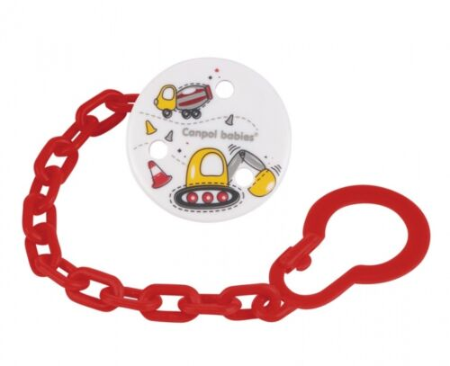 Baby dummy clip soother  holder chain Fruits /&  Machines colection  ribbon  NEW