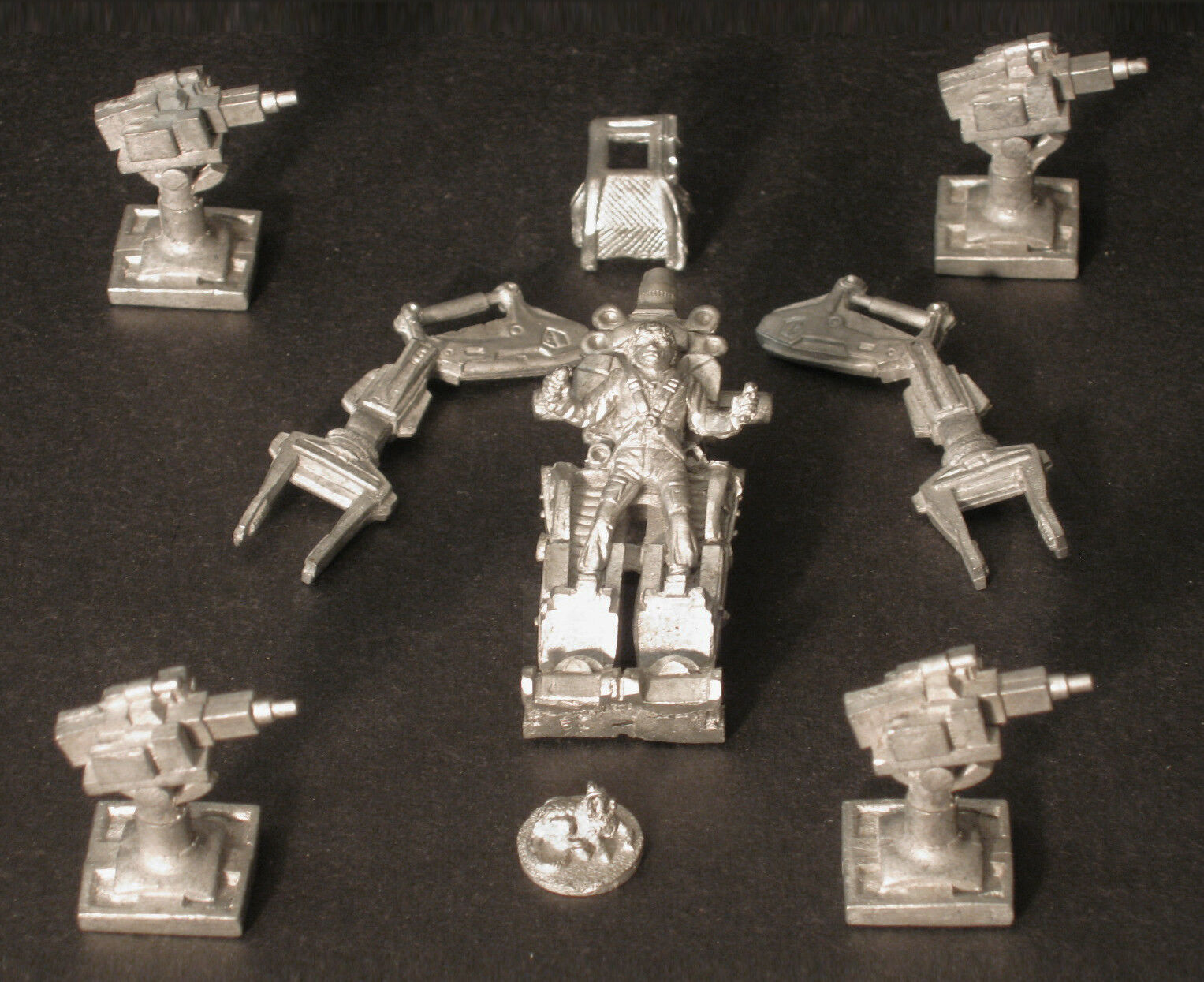 Aliens Power Loader Miniatures Set, Set, Set, 25mm Figures Leading Edge 20306, MegaExtras  c80ba0