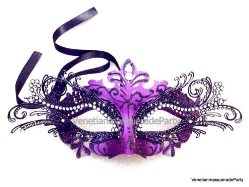 Sparkling Crystals Luxury Metal Elegant Women eye mask Venetian Masquerade Ball