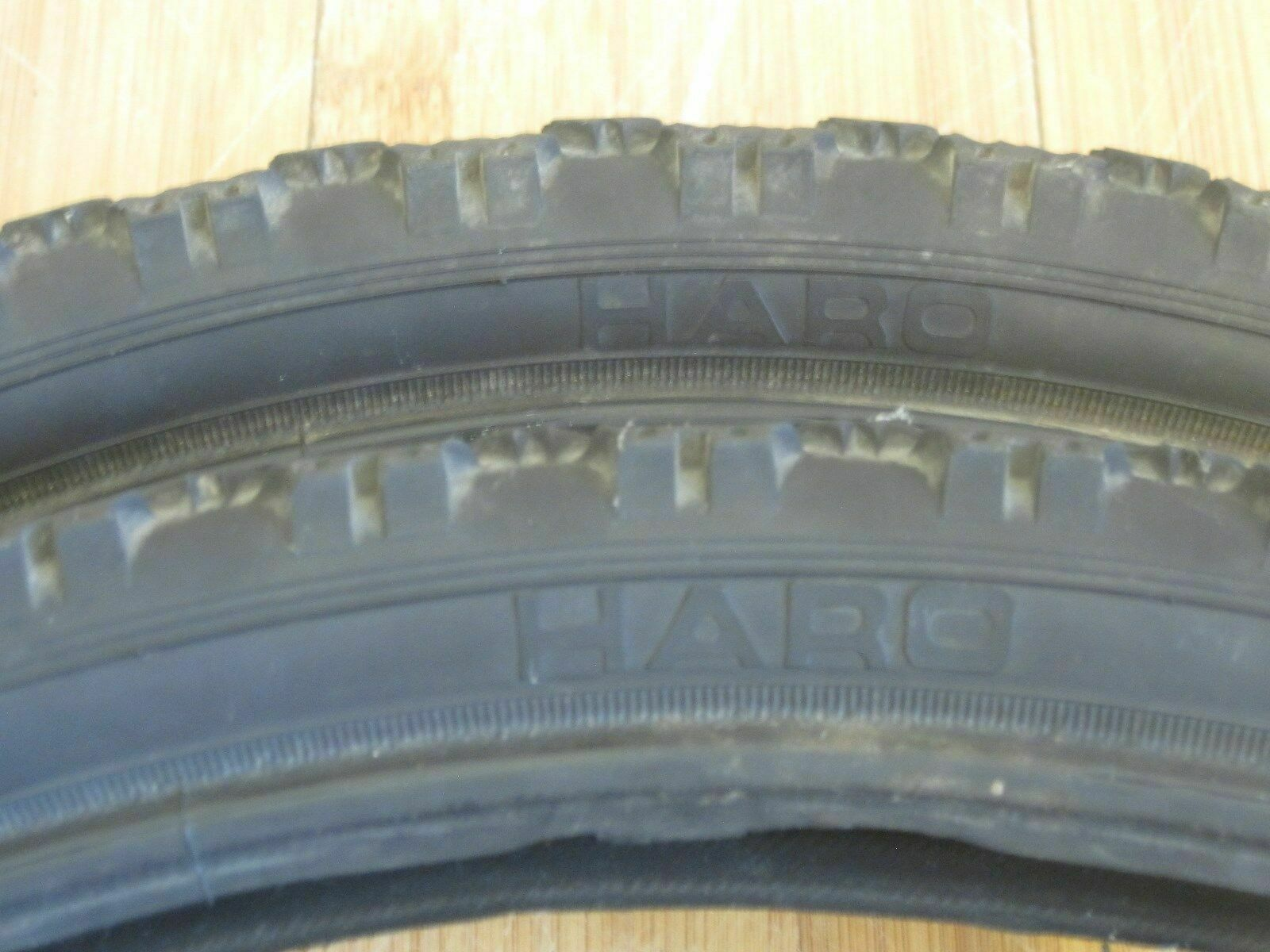 Vintage Haro bmx tires pair 20x1.70 rare old  mid school freestyle race survivor  high-quality merchandise and convenient, honest service