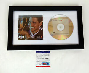 Michael-Buble-Signed-Autograph-Love-CD-Framed-PSA-DNA-COA