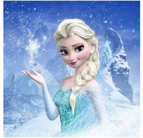 New Princess Elsa Anna Snow Queen Frozen Weaving Braid Cosplay Wig Kids Adults #