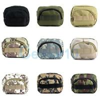 Tactical Molle Pouch Gadget Utility Pouch Belt Loop Waist Tool Bag For Backpack