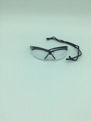 Jackson 3000355 KC 25679 Nemesis Safety Glasses Black Frame Clear Lens Anti Fog