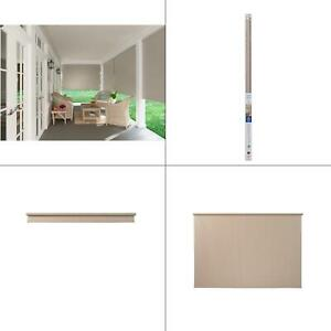 Coolaroo W x72 in 96 in Cordless Spring Operated Exterior Roller Shade
