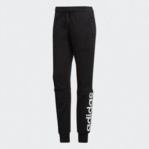à pour pantalon femmes Nouveau linéaire EssentialsNoir Adidas blanc manchette S97154 uF3TK15Jcl