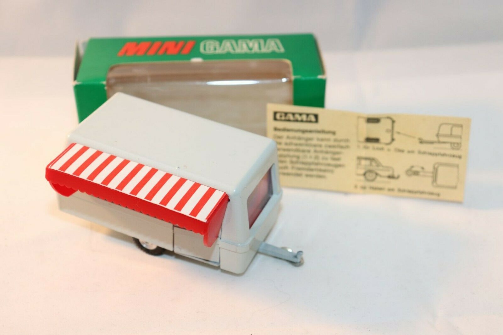 GAMA Mini 980 Camping Anhanger 1 46 perfect mint in box original condition