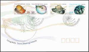 2007-COCOS-KEELING-ISLANDS-Living-Shells-4-FDC
