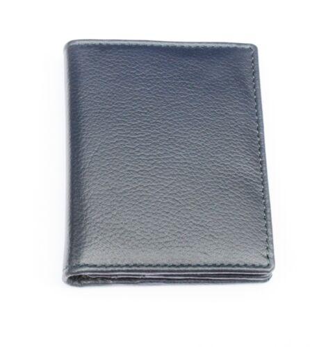 Jack Russell Negro o Azul Real De Cuero doble pliegue soporte tarjeta y cartera